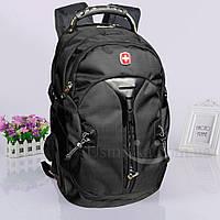 Многофункциональный рюкзак Swissgear 7225, черный + USB