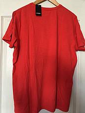 Футболка мужская красная короткий рукав xl(56),xxl(60) германия livergy, фото 2