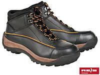 Ботинки коженые со стальным усиленным носком ПОЛЬША BRYALREIS