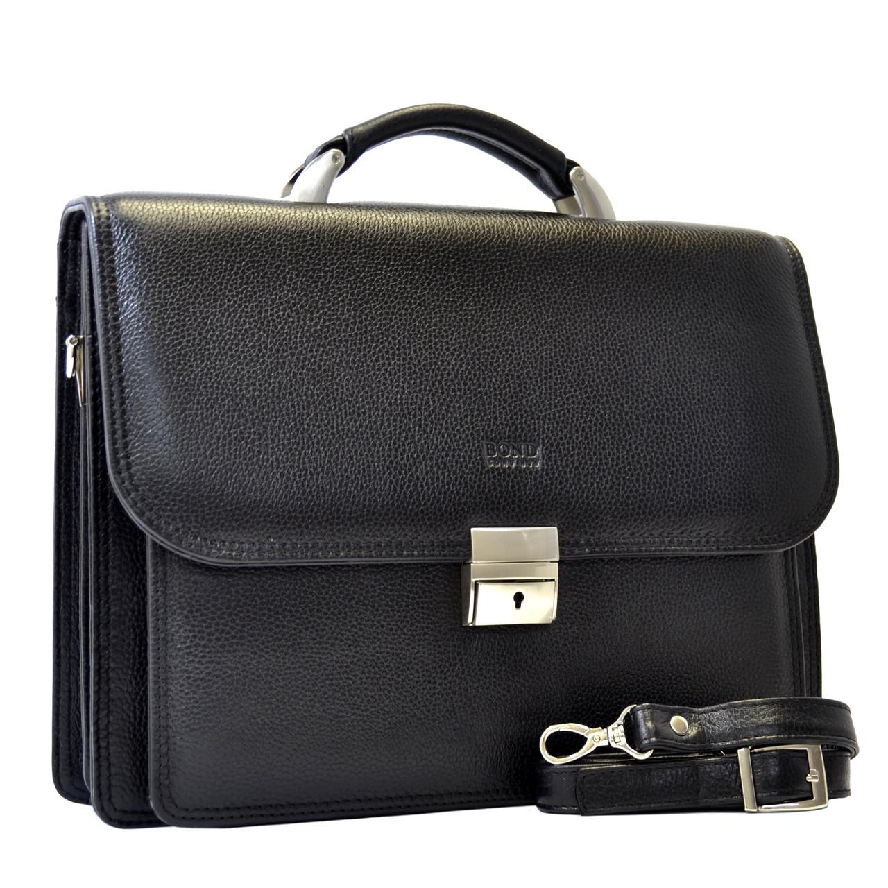Кожаный портфель Bond