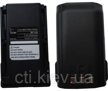 BP-232 2000mAh Li для Icom IC F16 / F26