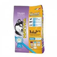 Natyka(Натика) Gold Puppy & Small Dog Полувлажный корм для цуценят і собак дрібних порід,4.5 кг