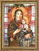 """Набор для вышивания бисером №803 """"Богородица с Иисусом Христом"""" (по картине А. Охапкина)"""