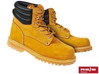Ботинки кожаные (нубук) с усиленным носком ПОЛЬША BRFARMER Y