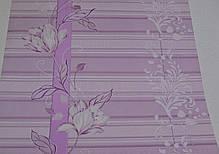 Обои, обои на стену, цветы, розовый, акриловые на бумажной основе, B76,4 Марго 7019-06, 0,53х10м, фото 3