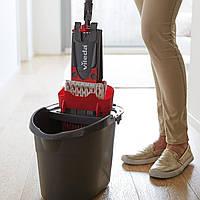 Комплект для уборки Vileda UltraMax Flat Mop черно-красный, фото 3