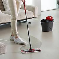 Комплект для уборки Vileda UltraMax Flat Mop черно-красный, фото 5