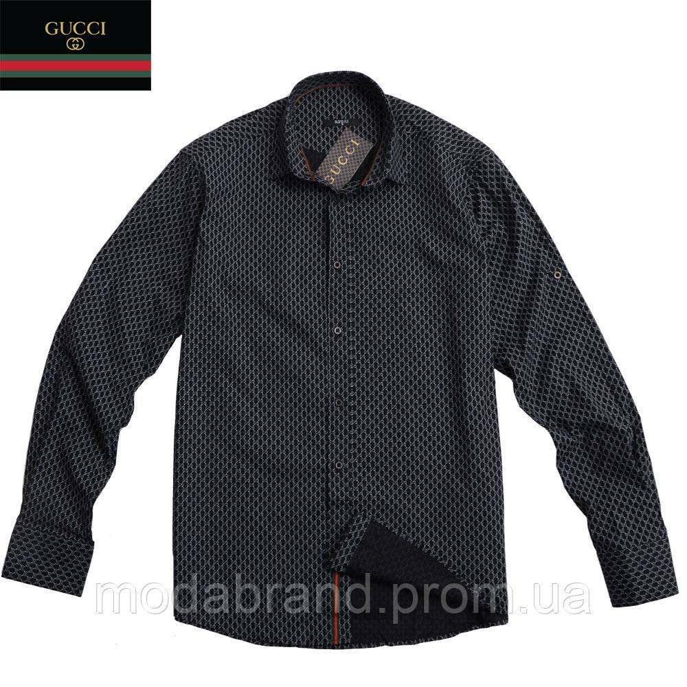 6240aff59725 Мужская рубашка Gucci  продажа, цена в Киеве. рубашки мужские от ...