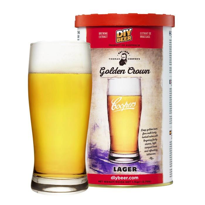 Пивная смесь Coopers Golden Crown Lager