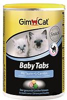 Витамины для котят GimСet BABY-TABS (Джимпет Беби Табс) для укрепления иммунитета,  40г/114шт