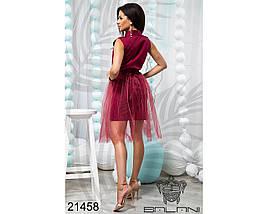 Платье рубашка с фатином, фото 2