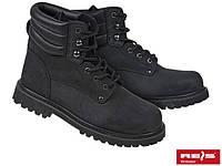 Ботинки кожаные (нубук) с усиленным носком ПОЛЬША BRFARMER B