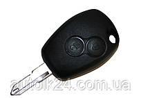 Заготівля ключа RENAULT Kangoo,Clio,Master,Twingo 2 кнопки лезо NE73