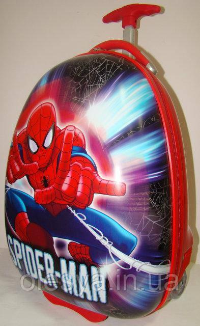 """Детский чемодан на колесах """"Спайдермен"""" для мальчиков 3- 8 лет"""