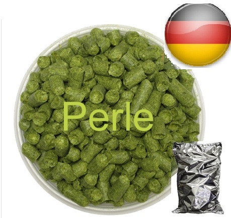 Хмель Перле (Perle), α-7 %  Урожай 2017г.