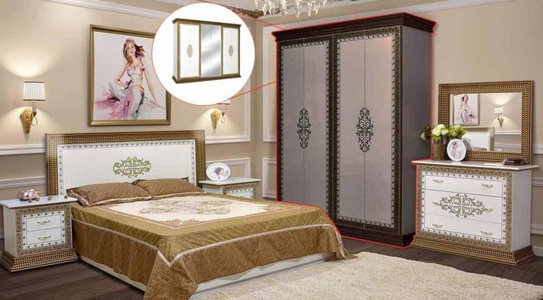 Ліжко 160 Софія Люкс з м'яким узголів'ям, фото 2