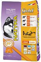 Natyka(Натика) Gold Adult &Senior Полувлажный корм для дорослих і старіючих собак усіх порід з яловичиною та ягням,4.5 кг