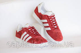 Женские кроссовки Adidas Gazelle Bordo