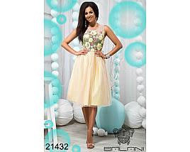 Пышное фатиновое платье, фото 2