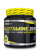 BioTech Glutamine Zero 300 g peach ice tea