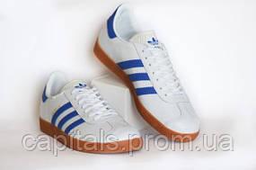 Мужские кроссовки Adidas Gazelle White/Blue