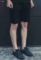 Мужские джинсовые черные шорты Staff black, фото 1
