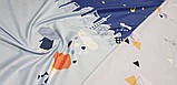 Постельное белье сатин Облака, фото 3