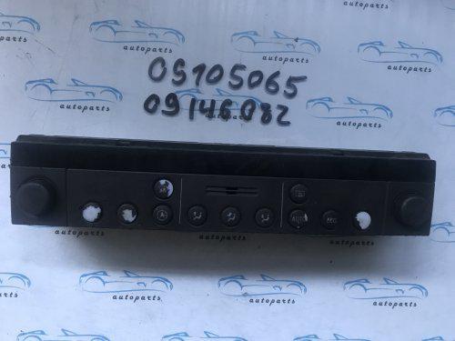 Блок управління пічкою опель Омега Б, opel Omega B 09105065, 09146082