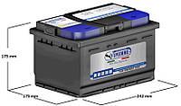 Аккумулятор VIPIEMME B040C 12V 60 Ah R+ CARICA