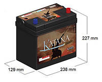 Аккумулятор VIPIEMME 452 P/P KATANA 12V  45 Ah  R+ CARICA