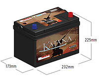 Аккумулятор VIPIEMME 458  KATANA 12V  62 Ah R+ CARICA
