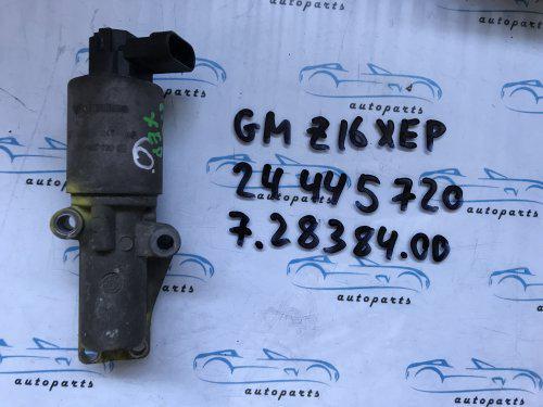 Клапан EGR опель Вектра С, opel Vectra C 24445720 1.6 Z16XEP