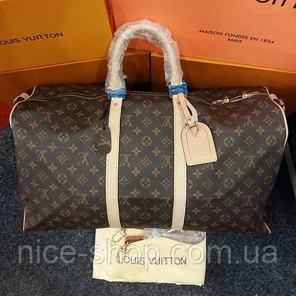 Уценка! Сумка Louis Vuitton Keppall кожа, классика монограмм, Люкс, 55 см, фото 3