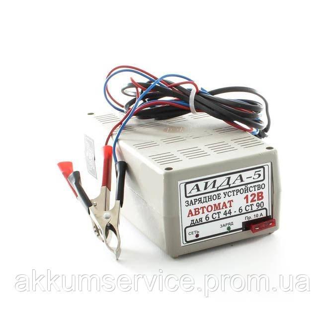 """Автоматическое десульфатирующее зарядное устройство """"АИДА 5""""  12В АКБ 32-90А*час"""