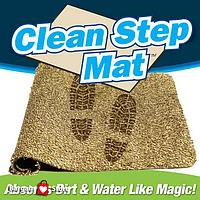 Придверный Clean Step Mat супервпитывающий коврик