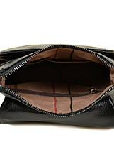 Мужская сумка планшет через плечо кожа BRETTON 505-1 black, фото 3