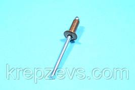 Заклепка Ф4.8 DIN 7337, мідь/сталь