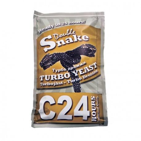 Спиртовые турбо дрожжи Doble SNAKE C-24 turbo yeast