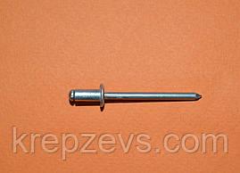 Заклепка Ф5.0 DIN 7337 з звичайним буртиком
