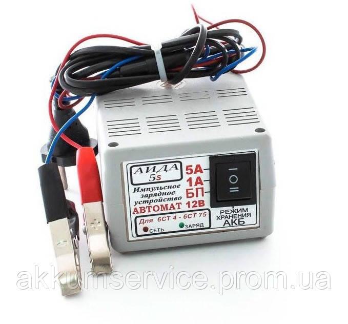 Автоматическое десульфатирующее зарядное устройство АИДА-5s для гелевых АКБ