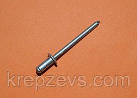 Заклепка Ф6.4 DIN 7337 з звичайним буртиком