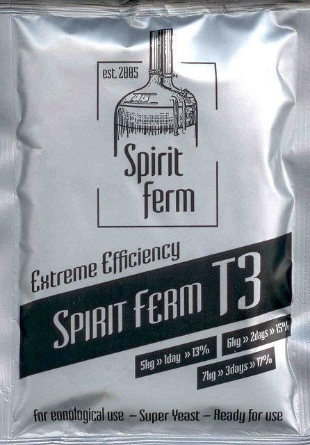 Турбо дрожжи Spirit Ferm T3