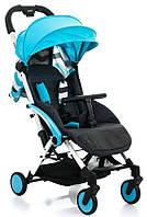 Детская прогулочная коляска BabyHit Amber Plus - Blue Black (Бебихит Амбер)