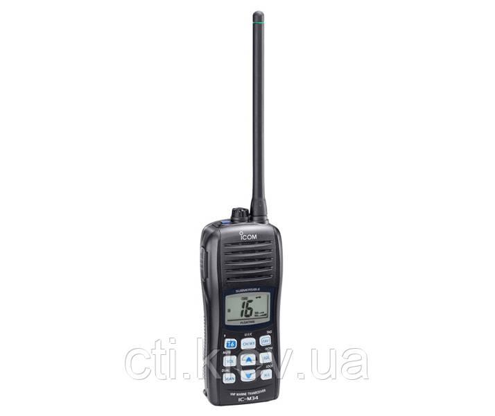 Icom IC M34 морская радиостанция