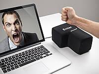 Большая кнопка Enter - функциональная USB кнопка игрушка антистресс