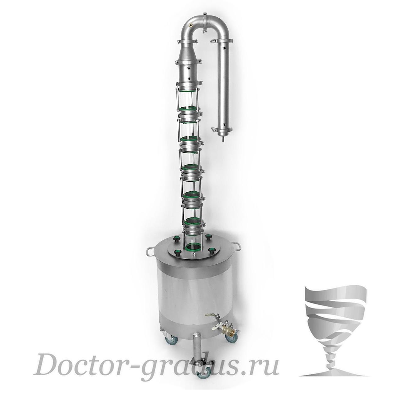 "Дистиллятор Доктор Градус ""Стиллмен-Классик"" с кубом 50 литров"