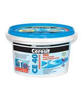 Эластичный водостойкий цветной шов CE-40(2кг) графит