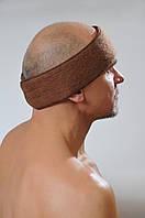 Повязка на голову согревающая из верблюжьей шерсти, фото 1