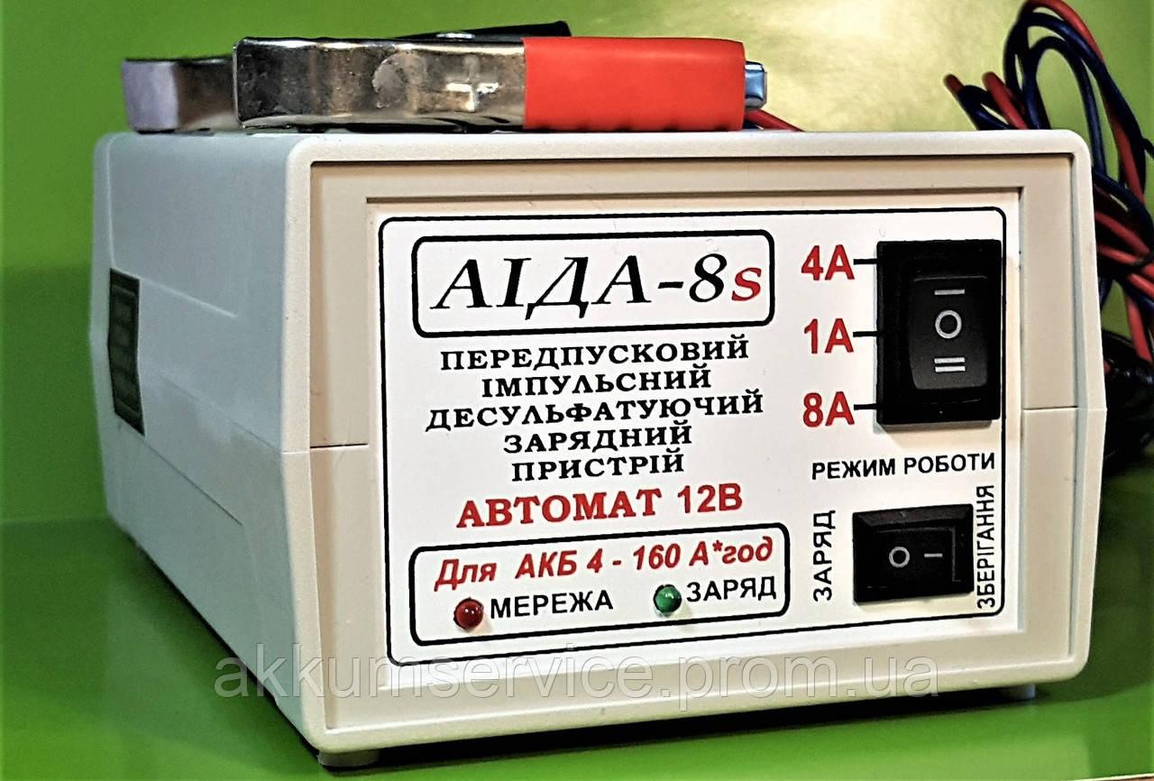 """Автоматическое зарядное устройство """"АИДА 8s"""" 12В АКБ 4-160А*час"""