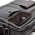 Мужской портфель–сумка Bond из натуральной кожи, фото 7